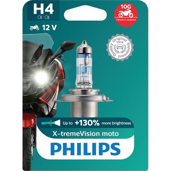 PHILIPS H4 X-tremeVision+ Moto