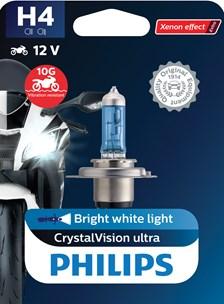 H4 CrystalVision ultra Moto