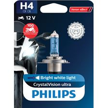 PHILIPS H4 CrystalVision ultra Moto