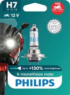 H7 X-tremeVision+ Moto