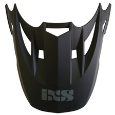 IXS HX261 klep Mat zwart