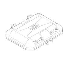 GIVI DLM46 / DLM30 Couvercle Noir - Z7710BR