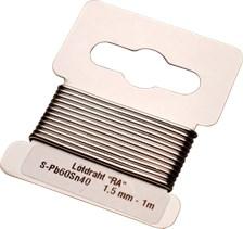 BGS TECHNIC Soldeerdraad 1.5mm x 1m
