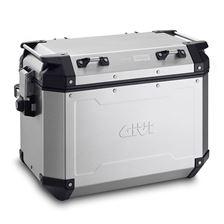 GIVI OBKN48 Trekker Outback valise Aluminium (gauche)