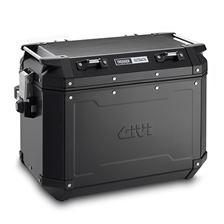 GIVI OBKN48 Trekker Outback valise Aluminium Noir (droite)