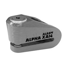 OXFORD Alpha XA14 Alarm Acier brossé-Noir