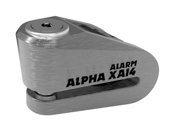 OXFORD Alpha XA14 Alarm Geborsteld staal-Zwart