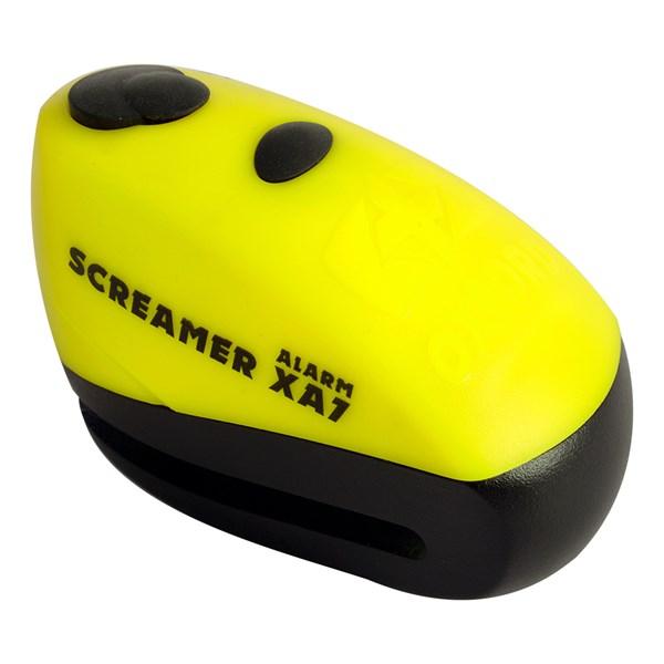OXFORD Screamer XA7 Alarm Geel-Mat zwart