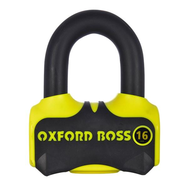OXFORD Boss 16 Zwart-Geel