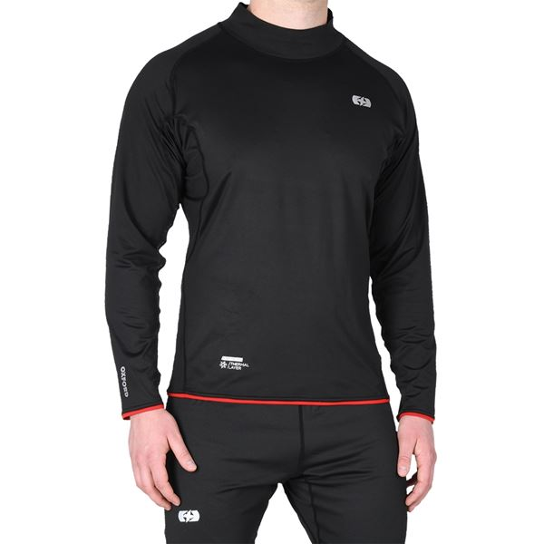 OXFORD Warm Dry Shirt Thermal Layer - Hoge kraag