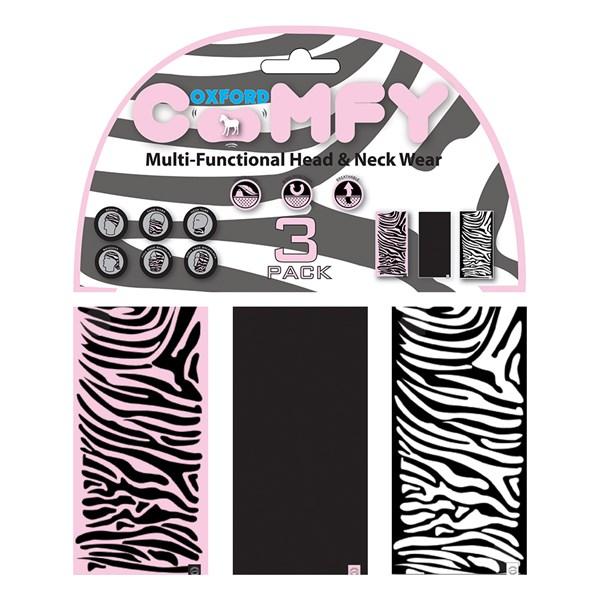 OXFORD Comfy - (3 stuks) Zebra