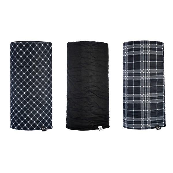 OXFORD Comfy - (3 pièces) Noir-Blanc-Tartan
