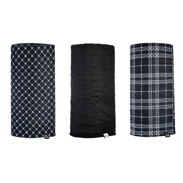 OXFORD Comfy (3 pièces) Noir-Blanc-Tartan