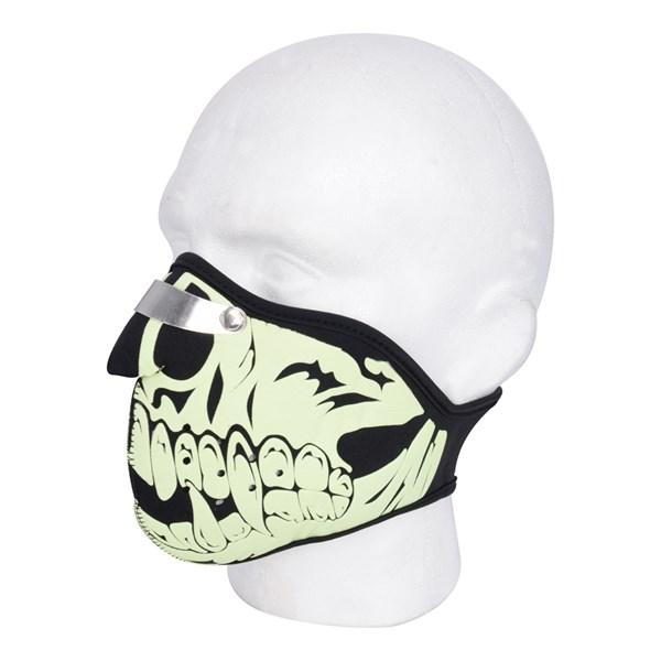 OXFORD Mask Neopreen Glow Skull