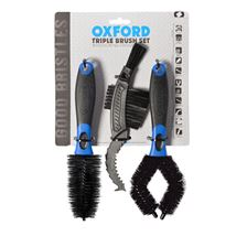 OXFORD Ensemble de trois brosses Triple Brush Set