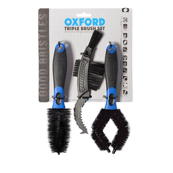 OXFORD Set van drie borstels Triple Brush Set
