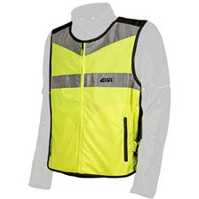 GIVI High visibility boven jas Fluo geel