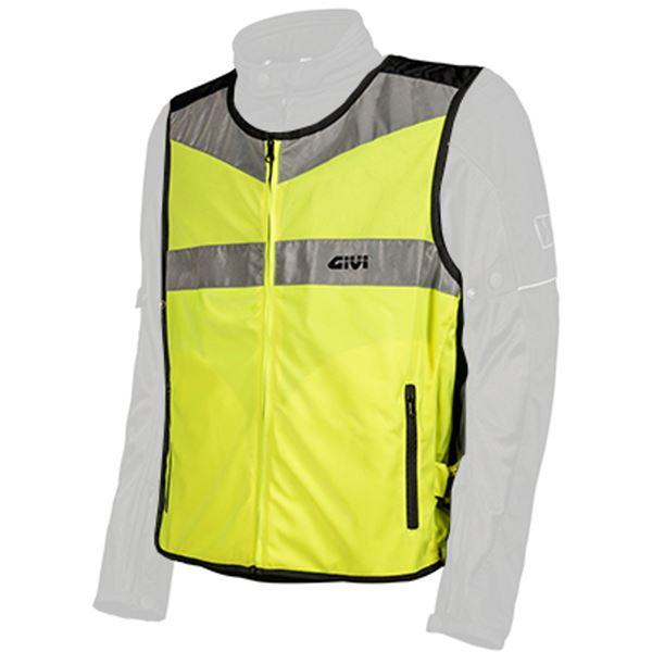 GIVI High visibility sur veste Fluo jaune