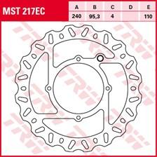 TRW EC disque de frein offroad MST217EC
