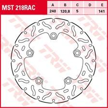 TRW MST disque fixe avec RAC design MST218RAC