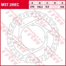 TRW EC disque de frein offroad MST299EC