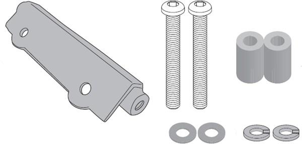 GIVI 'Zonder topkofferhouder' kit PLR/PLX(R) 1161KIT