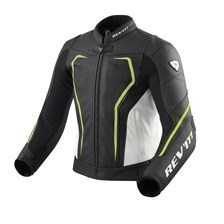 REV'IT! Vertex GT jacket Noir-Jaune fluo