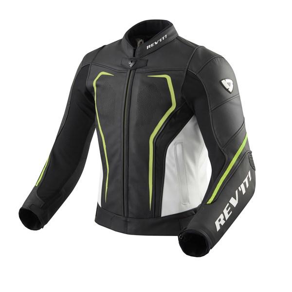 REV'IT! Vertex GT jacket Noir-Jaune fluo