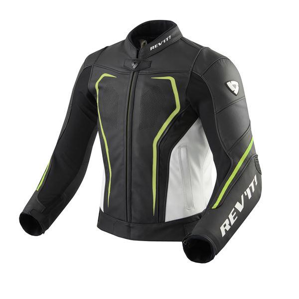REV'IT! Vertex GT jacket Zwart-Fluogeel