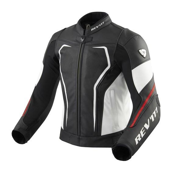 REV'IT! Vertex GT jacket Noir-Rouge