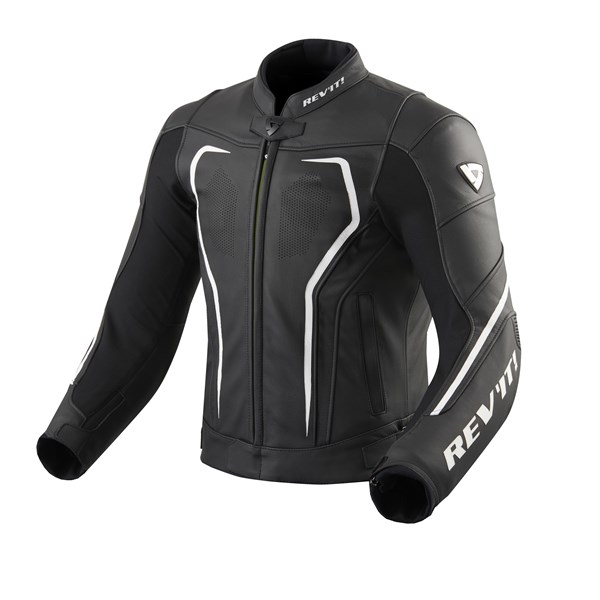 REV'IT! Vertex GT jacket Noir-Blanc