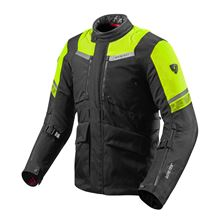 REV'IT! Neptune 2 GTX Jacket Noir-Jaune fluo