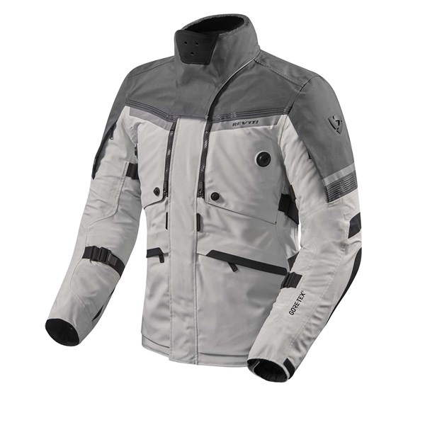 REV'IT!  Poseidon 2 GTX Jacket Zilver-Antraciet
