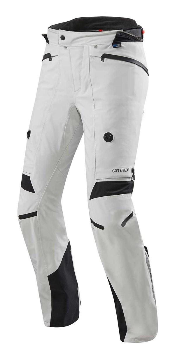 REV'IT! Poseidon 2 GTX Pants Zilver-Zwart kort