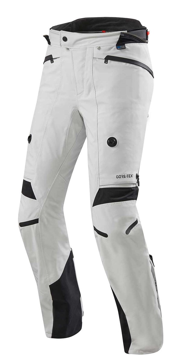 REV'IT! Poseidon 2 GTX Pants Argent-Noir longues