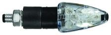 CHAFT Focus (par paire) Noir avec lentille fumée