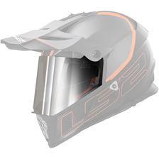LS2 Vizieren MX-MHR-81 Zilver spiegelvizier