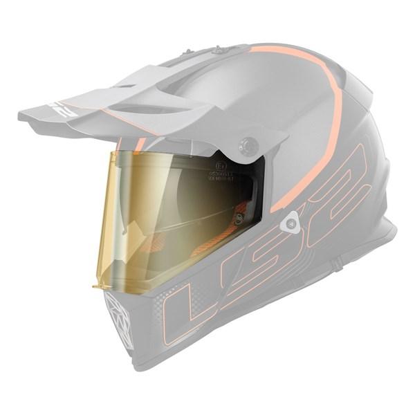 LS2 Vizieren MX-MHR-81 Goudkleurig spiegelvizier