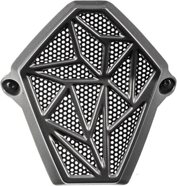 LS2 kin ventilatie MX436 & MX437 zilver