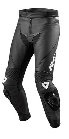 REV'IT! Vertex GT pants Noir-Blanc courtes