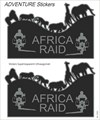 BOOSTER Adventure sticker Africa Raid