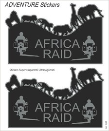 Adventure sticker Africa Raid