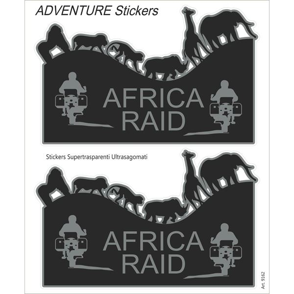 BOOSTER Adventure sticker Africa Raid