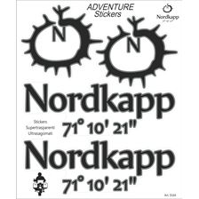 BOOSTER Adventure sticker Nordkapp