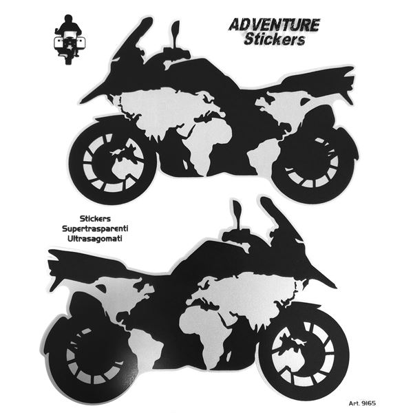 BOOSTER Adventure sticker Moto Planet