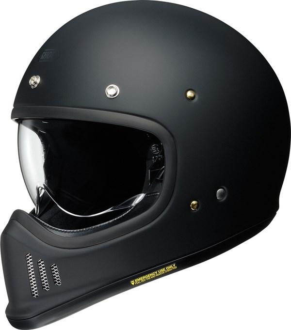 SHOEI EX-Zero Mat zwart