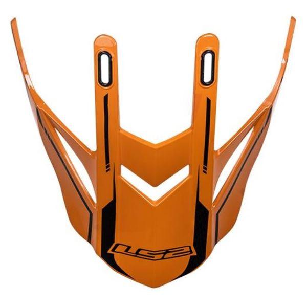 LS2 MX437 penne orange-noir Core