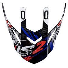 LS2 MX437 penne noir-blue-rouge Strong