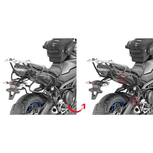 GIVI Zijkofferhouders V35  en V37 koffers - PLXR PLXR2139