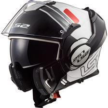 LS2 FF399 Valiant Prox Wit-Zwart-Rood
